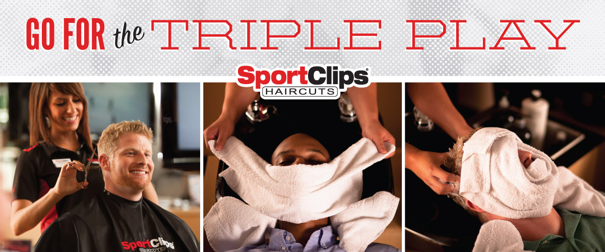The Sport Clips Haircuts of Wilmington - Porters Neck Center  Triple Play